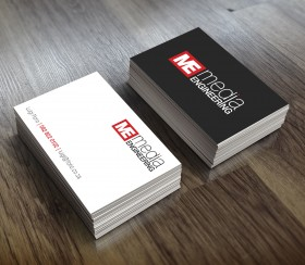 Media Engineering Business Cards