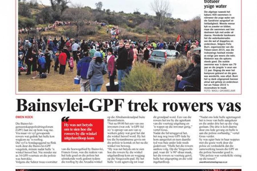 Bloemfontein Courant is nou vuurwarm
